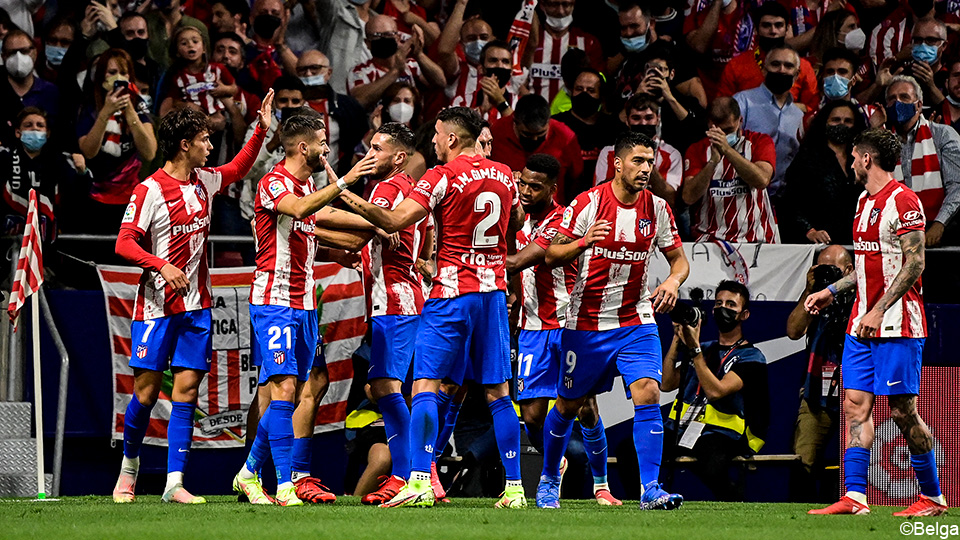 Live: Atletico advance twice after two attacks from the book |  La Liga Santander 2021/2022