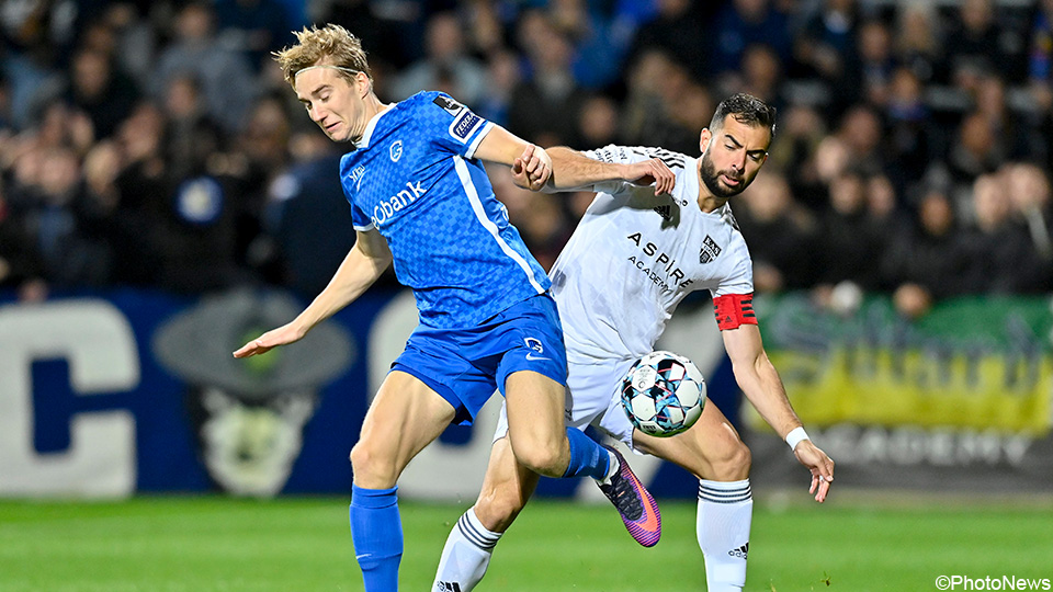 LIVE: Privlejak penalty kick quickly puts Eupen back together with Genk |  Jupiler Pro League 2021/2022