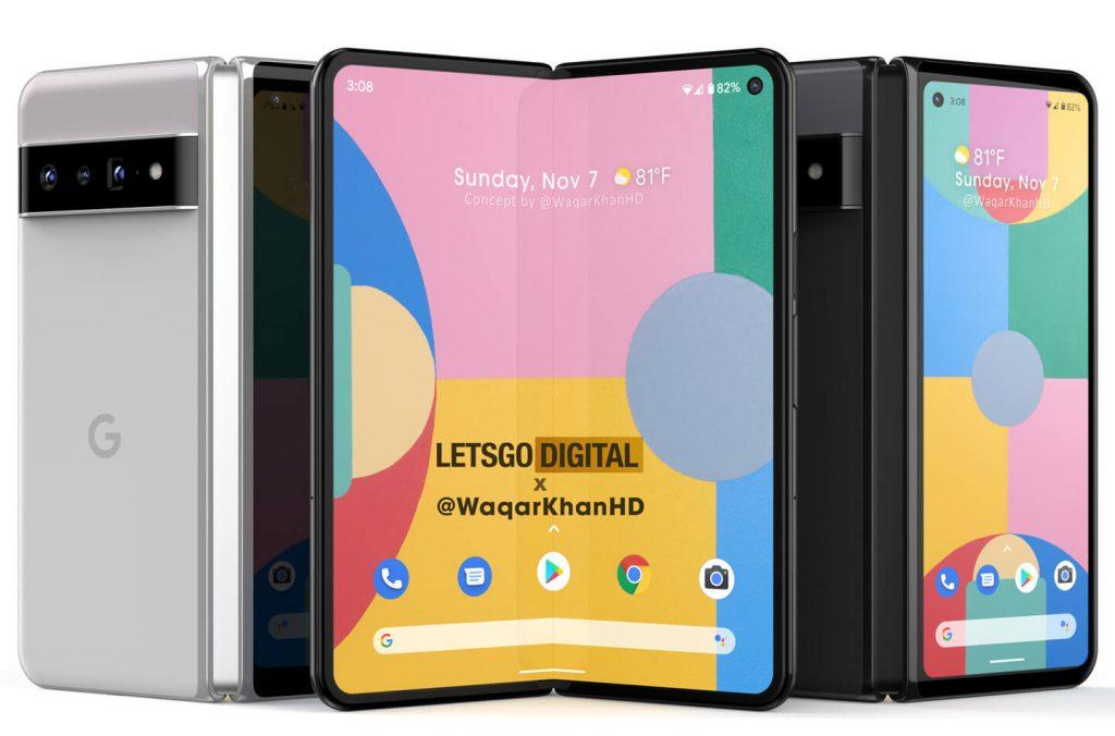 Google Pixel Fold foldable smartphone