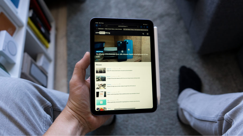 iPad mini 6 has some issues: Here it is