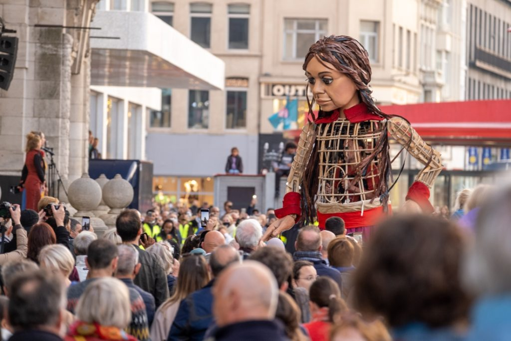 Little hope fascinates Antwerp: the giant brings population migration ... (Antwerp)
