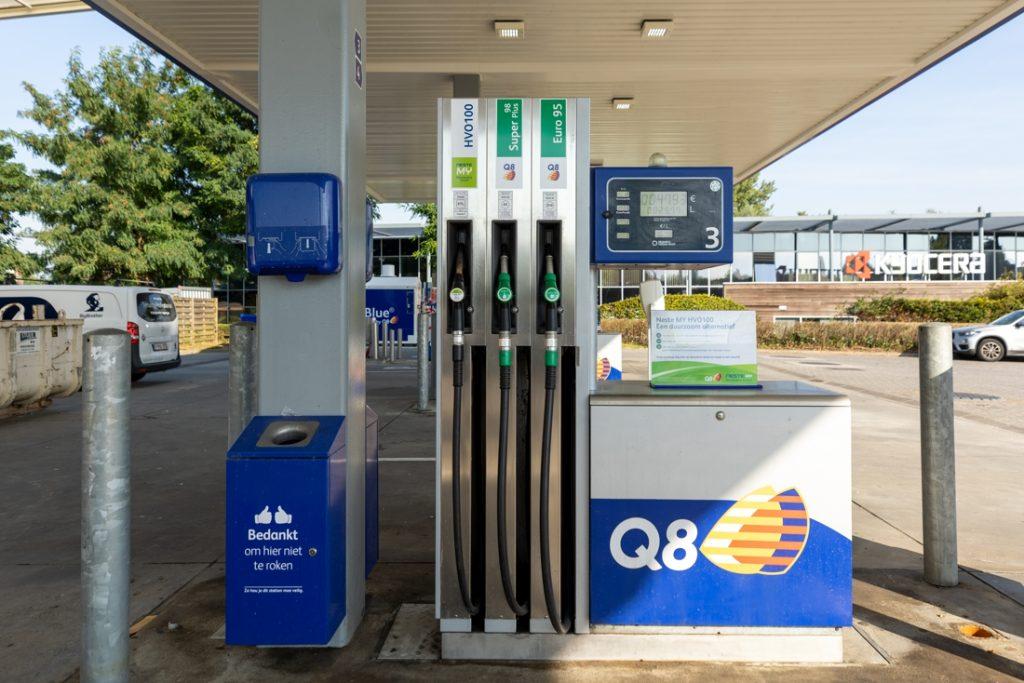 Q8 introduces renewable diesel at the Mechelen filling station (Mechelen)