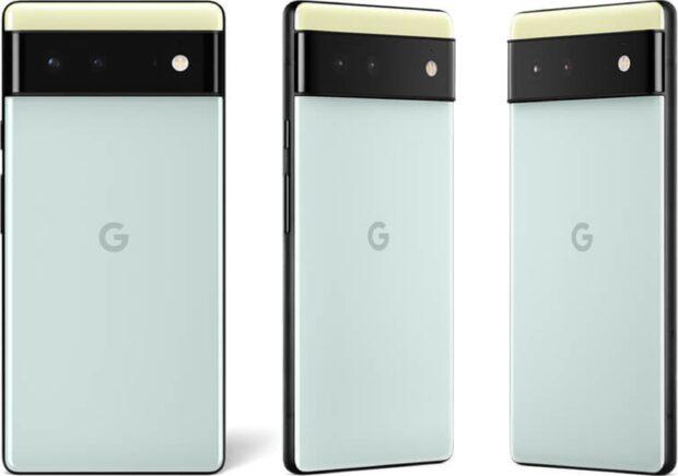 Google Pixel 6 Back Seafoam Green
