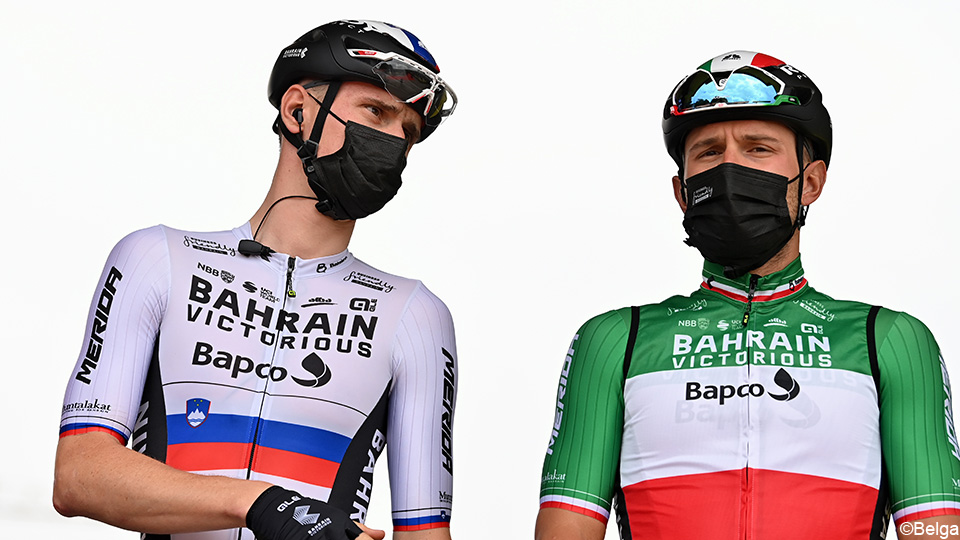 Colbrelli and Mohorek extend to victorious Bahrain after first season    Cycling