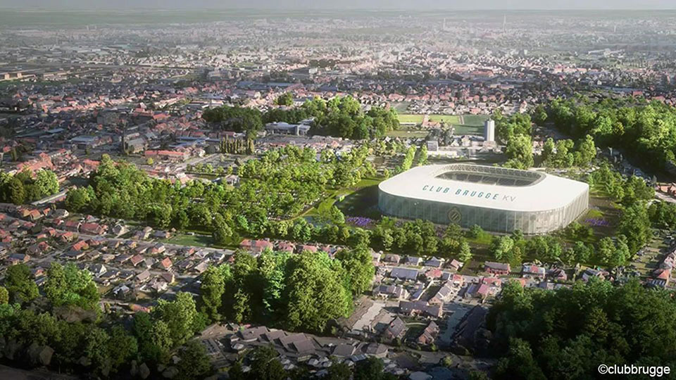 Environmental permit gives green light to new Club Brugge stadium    Jupiler Pro League