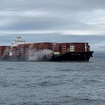 Fire on a container ship carrying hazardous materials off the Canadian coast: Toxic substances in sea water |  News
