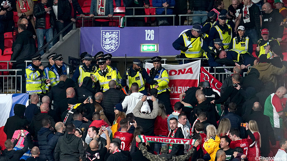 Hooligans shake things up in Group One: Hungarians and Albanians run amok |  UEFA World Cup 2022 Qualifiers