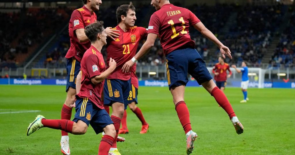 Spain set aside European champions Italy and be the first to reach the Nations League final    Spain reached the final of the Nations League