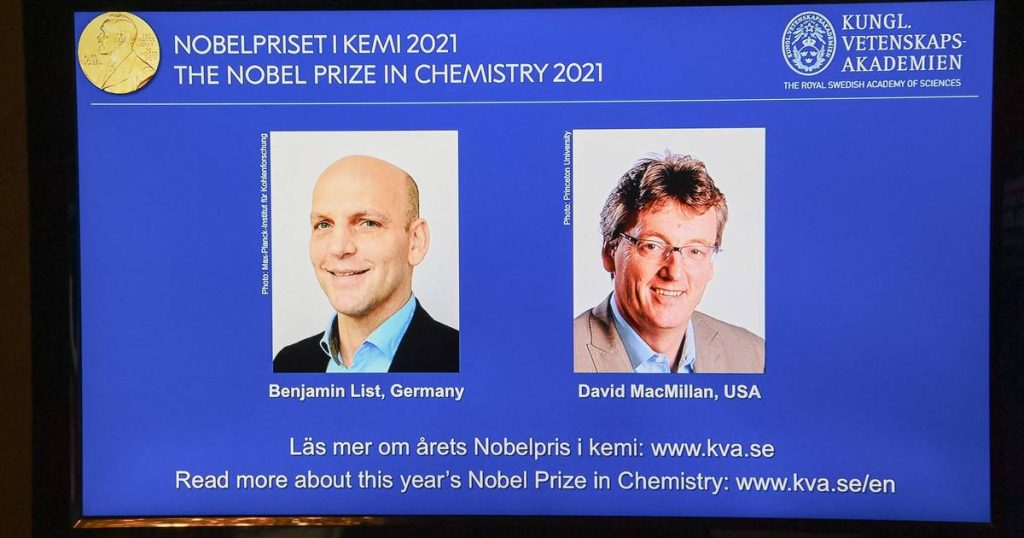 The Nobel Prize in Chemistry goes to scientists who have developed a new method for building molecules |  News