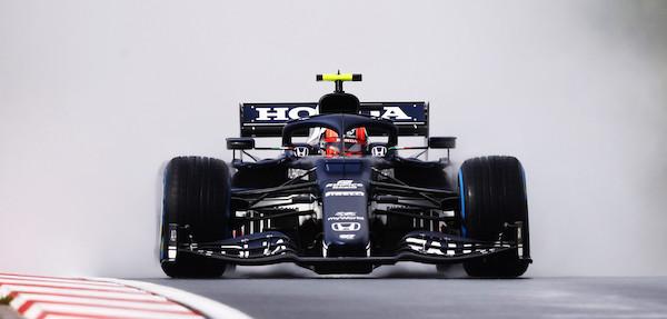 Turkey Grand Prix: Third training session: Pierre Gasly surprises fastest in the rain, Lewis Hamilton 18th - F1journaal.be