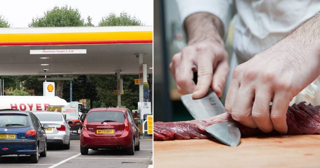 UK fuel shortages could last for another week: Butchers shortage now abroad