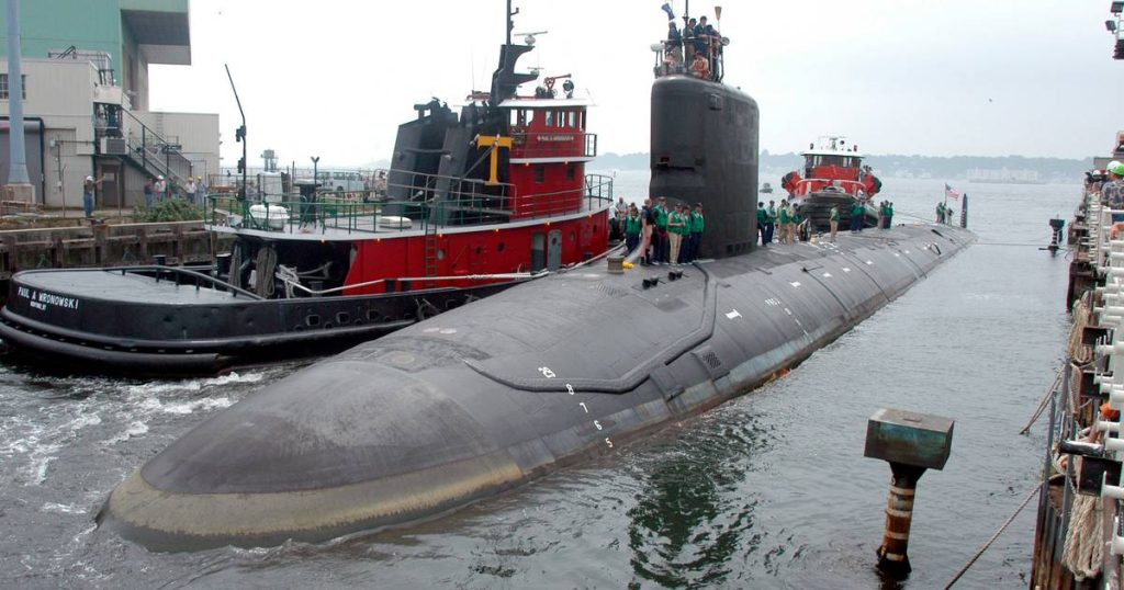 US Navy engineer intends to sell secrets about nuclear submarines |  Abroad